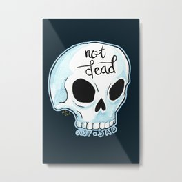 Just Sad Metal Print