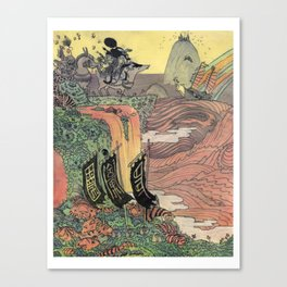 Mu Guai and the Tiger's Eye, Panel 8 Canvas Print