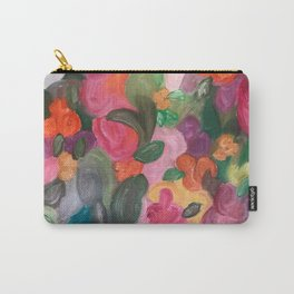 Flower World Carry-All Pouch