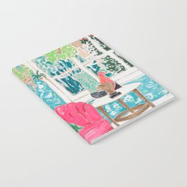 Pink Tub Chair Notebook