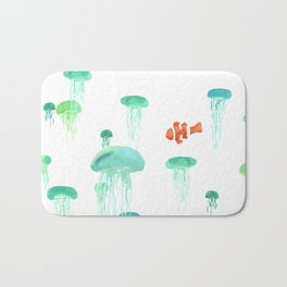 Sea of Jellies Bath Mat