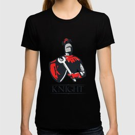 Cartoon plumber Knight T-shirt