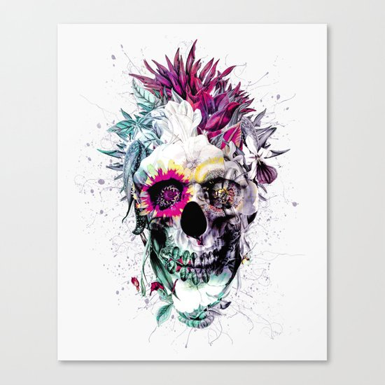 Skull Punk IV Canvas Print