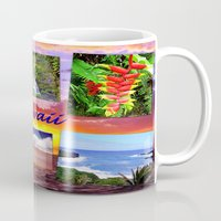 hawaii Mugs featuring Hawaii by Art-Motiva