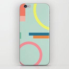 Modern Geometric 71 iPhone Skin