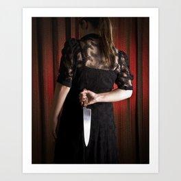 murderous Art Print