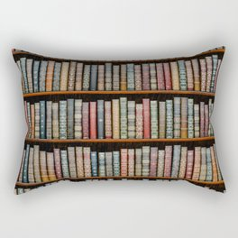The Library Rectangular Pillow