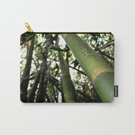 Green Thicket Carry-All Pouch