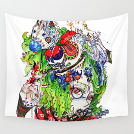 The rocking horse Wall Tapestry