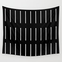 Organic / Black Wall Tapestry