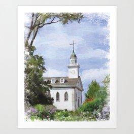 Kirtland Temple Art Print