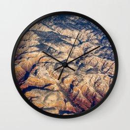 Mars or Earth Wall Clock
