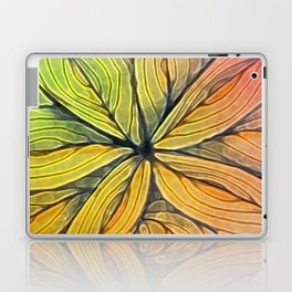 Doodled Aura-Leah Digitized Macro Laptop & iPad Skin