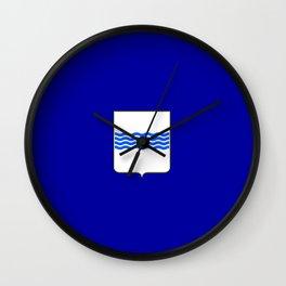 flag of basilicata Wall Clock