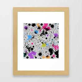 Ink Splash Framed Art Print
