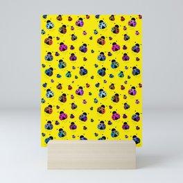 Ladybugs Blast Off Mini Art Print