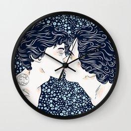 First Kiss Wall Clock