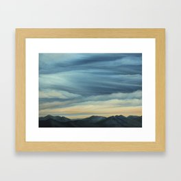 View from Hamburg Mountain Framed Art Print