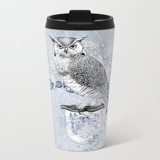 Owl Theory Metal Travel Mug