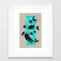 coco Framed Art Prints featuring Coco by Andres Moncayo