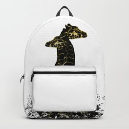 Broken Life Giraffe Backpack