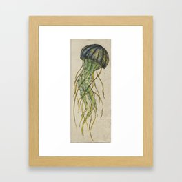 Beautiful Monster Framed Art Print