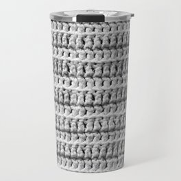 Crochet Texture Travel Mug