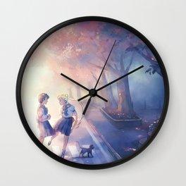 Usagi & Ami Wall Clock