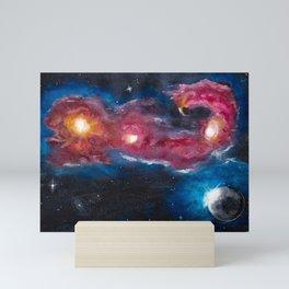 Scorpios Morgan Nebulae: Morning Scorpion Mini Art Print