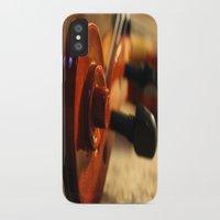 violin iPhone & iPod Cases featuring Violin by Allan Delph