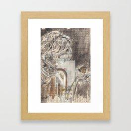 The Dream Girl Framed Art Print