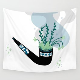 Garden pipe Wall Tapestry