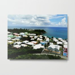 A House of a Different Color Metal Print
