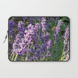 Bumblebee 10 on lavender ahem honey bee actually Laptop Sleeve