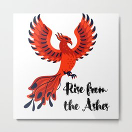 Rise from the Aashes Metal Print