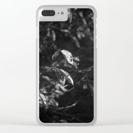 Dead Things Fall Clear iPhone Case