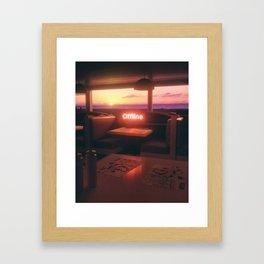 OFFLINE #3 Framed Art Print