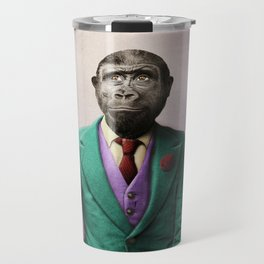 Bradley was a Young Gorilla with BIG Dreams Travel Mug
