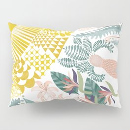 A piece of summer - on white Pillow Sham