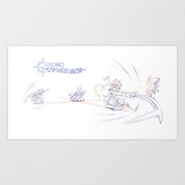 Chrono Trigger - Ozzie's in a Jam! Art Print