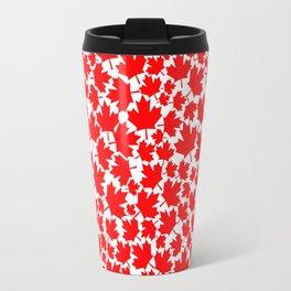 Canadian fall / Canadian flag maple leaf pattern Travel Mug
