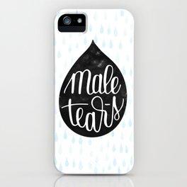 Male Tears iPhone Case