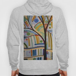 Abstract Art Original Landscape Painting ... The Sound of Sunshine Hoody