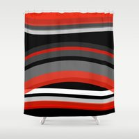 discount Shower Curtains featuring There's movement by R Jordan