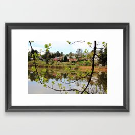 Moments of Reflection Framed Art Print