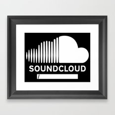 Share Your Cloud With The World Framed Art Print