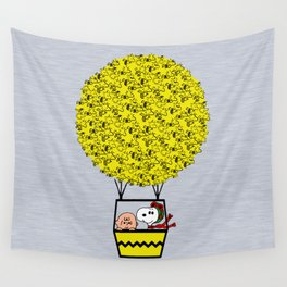 I can fly Wall Tapestry