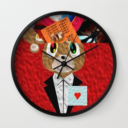 Hip Hop KanyeWest Compilation Wall Clock