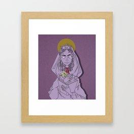 Saint Dymphna Framed Art Print