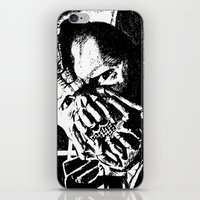 bane iPhone & iPod Skins featuring Bane by DeMoose_Art